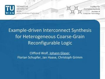download presentation (pdf) - Clifford