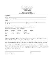 Period Vendor Application - Mariners' Museum