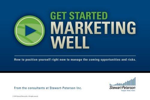 """Get started marketing well"" e-Book - Progressive Dairyman Magazine"