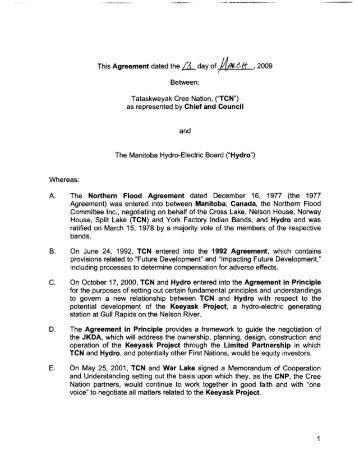 Schedule 1 4 Power Purchase Agreement Manitoba Hydro