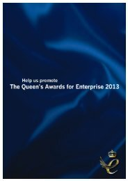 The Queen's Award - Society of Maritime Industries