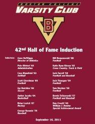 42nd Hall of Fame Induction - Graber Associates