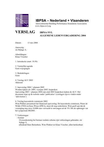 Notulen ALV 13 mei 2004 - ibpsa-nvl