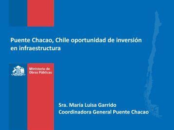 Puente Chacao, Chile oportunidad de inversión en ... - MOP
