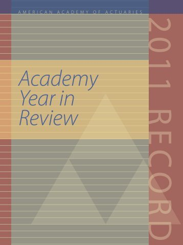 The Record - American Academy of Actuaries