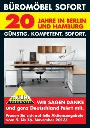BÜROMÖBEL SOFORT - Urban Media GmbH