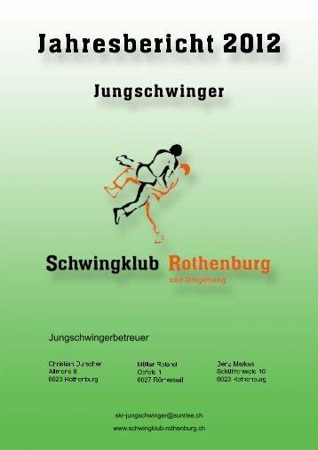 Jahresbericht 2012 - Schwingklub Rothenburg