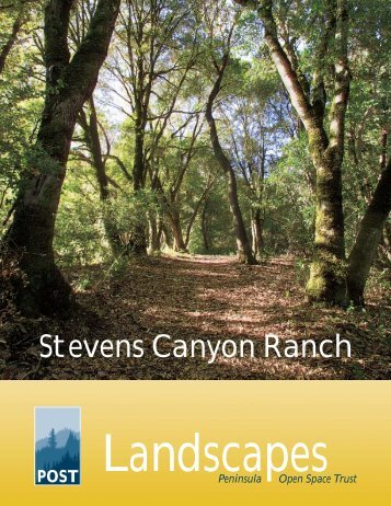 Stevens Canyon Ranch - Peninsula Open Space Trust