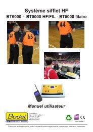 Tableaux d'affichage sportif - Bodet Sport