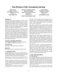 Peer Review in CS2: Conceptual Learning