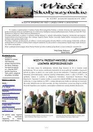 Nr 4/2007 - Biuletyn Informacji Publicznej, Urząd Gminy Skołyszyn