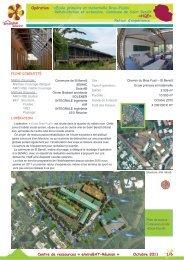 Ecole maternelle et primaire Bras Fusil - Envirobat Réunion