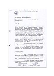 el informe de un sumario administrativo - CIPER Chile