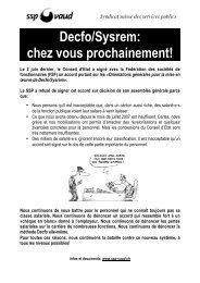Tract - SSP - Vaud / Syndicat des services publics