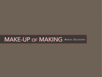 Make-up of Making