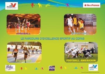 Le parcours d'excellence sportif au CDFAS Eaubonne - IRDS