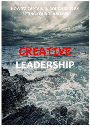 150709 Creative Leadership Summary