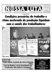 Jornal sticap outubro.p65 - Sindicato dos Trabalhadores nas ...