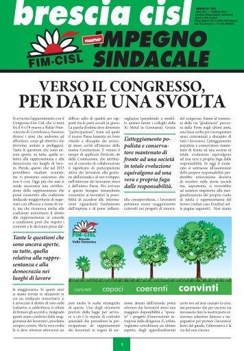 dare una sVolta - Giornale di Brescia
