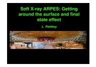 Soft X-ray ARPES: Getting around  the surface and final state effect