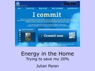 Energy In The Home - Transition Black Isle