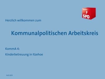 Die Präsentation - SPD Itzehoe