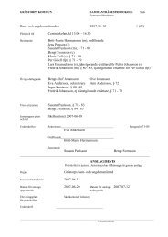 Barn- och ungdomsnämnden 2007-06-12 1 - Grästorps kommun