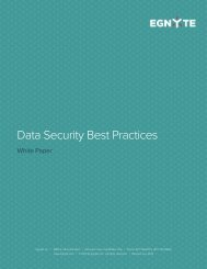 Data Security Best Practices - Egnyte