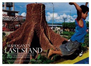 Mahogany's Last Stand - Scott Wallace