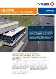 la route - Arc Express