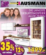 Kleiderschrank Doppelbett 2 Nachtkonsolen - Möbel Hausmann