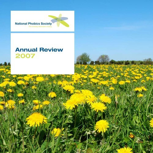 Annual Review - Anxiety UK