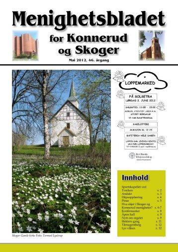 Menighetsblad nr 2/12 - Den norske kirke i Drammen
