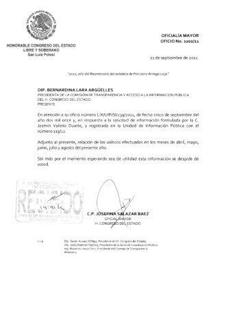 adjunto archivo PDF con la respuesta - Documentos de Proyecto ...