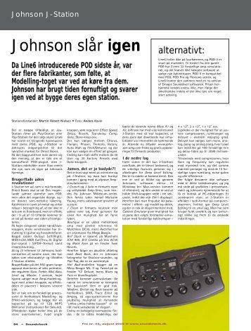 Johnson slår igen - Soundcheck