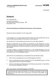 Schließung des Bethesda-Krankenhauses - Kutschaty, Thomas
