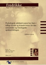 Fulltekst/PDF - Høgskolen i  Nesna