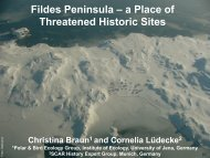 Fildes Peninsula – A Place of Threatened Historic Sites