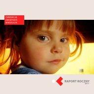 Raport roczny 2011 - Fundacja Świętego Mikołaja