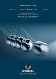 2009 Annual Report - Official Portal of Pemudah