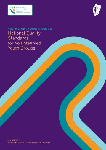 National Quality Standards for Volunteer-led Youth Groups - Drugs.ie