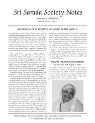 Fall 1999 in Adobe Acrobat Reader (.pdf) format - Sri Sarada Society