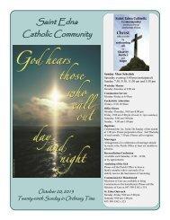 Oct 20 - St. Edna Catholic Church