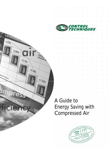 A Guide to Energy Saving with Compressed Air - Excel Compressors