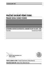 185 kB - publikace FSV UK