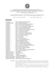 Súmula da Reunião Ordinária n° 1047, da Câmara ... - Crea-RS