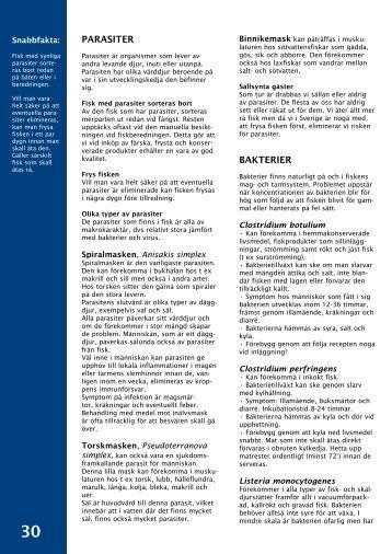 Bakterier och parasiter - Svensk Fisk