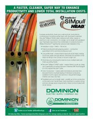 Pick up our flyer HERE - Dominion Electric