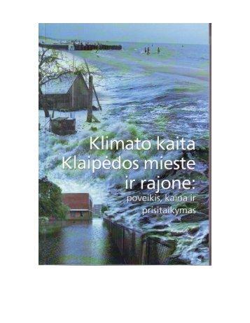 Klimato kaita Klaipėdos mieste ir rajone