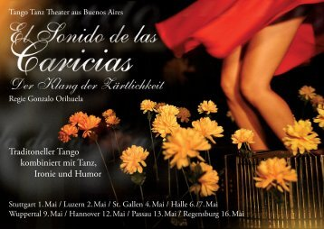 Traditoneller Tango kombiniert mit Tanz, Ironie und ... - tangoNegro